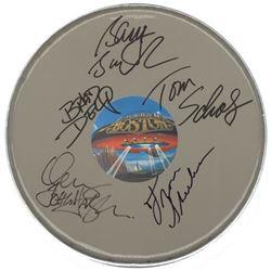 Boston Signed Drum Head