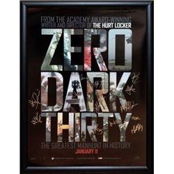 Zero Dark Thirty Signed Movie Poster