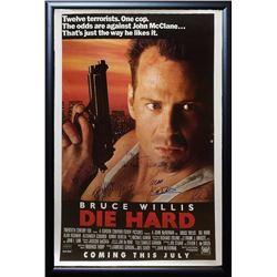 Die Hard Signed Movie Poster