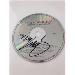 """George Michael Signed CD """"Ladies & Gentlemen The Best of George Michael"""""""