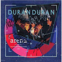 Duran Duran Arena signed Album