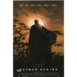 Signe Batman Begins poster BAS