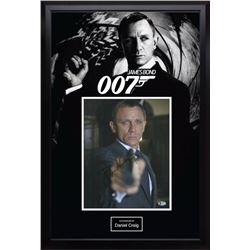 James Bond 007 Daniel Craig Signed Photo BAS