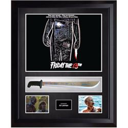 Friday the 13th signed Knife BAs
