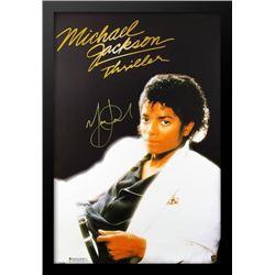 "Michael Jackson ""Thriller"" Signed Poster"