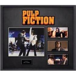 Pulp fiction signed collage PSA