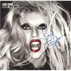 Lady Gaga Born This Way signed Album