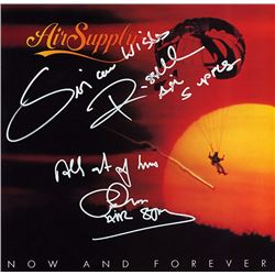 Air Supply Now And Forever signed Album