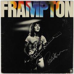 Peter Frampton Signed Album JSA