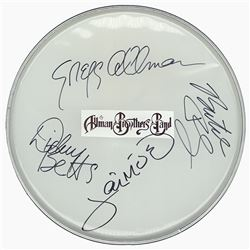 Alman Brothers Signed Drum Head