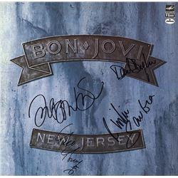 Bon Jovi Band Signed New Jersey Album