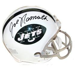 Joe Namath full size signed helmet