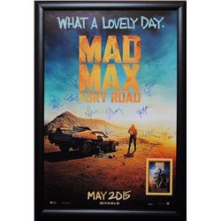 Mad Max Signed Movie Poster