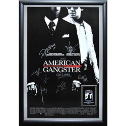 American Gangster Signed Movie Poster