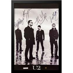 U2 Signed Music Poster