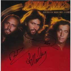 Bee Gees Spirits Having Flown signed Album