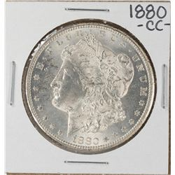 1880-CC Reverse of 1879 $1 Morgan Silver Dollar Coin