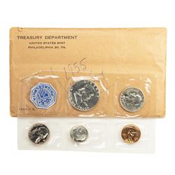 1955 (5) Coin Proof Set in Flat Pack