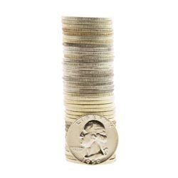 Roll of (40) Brilliant Uncirculated 1959-P Washington Quarter Coins