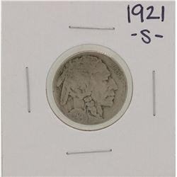 1921-S Buffalo Nickel Coin