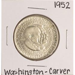 1952 Washington-Carver Commemorative Half Dollar Coin