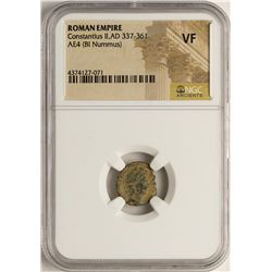 Constantius II, 337-361 AD Ancient Roman Empire Coin NGC VF