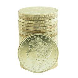 Roll of (20) Brilliant Uncirculated 1881-O $1 Morgan Silver Dollar Coins