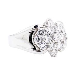 14KT White Gold 2.50 ctw Diamond Ring