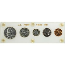 1961 (5) Coin Proof Set