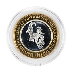 .999 Silver The Orleans Hotel & Casino Las Vegas, NV $10 Limited Edition Gaming Token