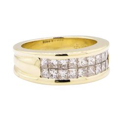 14KT Yellow Gold 1.30 ctw Diamond Ring