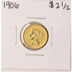 1906 $2 1/2 Liberty Head Quarter Eagle Gold Coin - Soldered