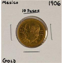 1906 Mexico 10 Pesos Gold Coin