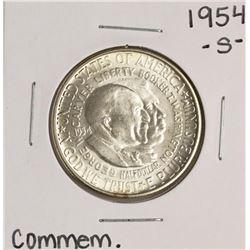 1954-S Washington-Carver Commemorative Half Dollar Coin