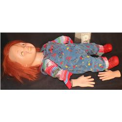 CURSE CULT SEED OF CHUCKY COMPLETE SCREEN USED CHUCKY SOME ASSEMBLY REQUIRED
