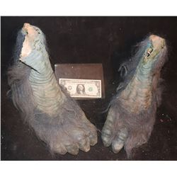 EVOLUTION BLUE PRIMATE FEET MATCHED PAIR 2