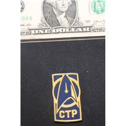 STAR TREK DISCOVERY CTP COMMAND TRAINING PROGRAM BADGE 2