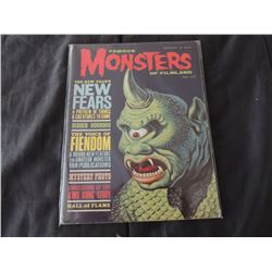 ZZ- FAMOUS MONSTERS OF FILMLAND 27 RARE EARLY ISSUE