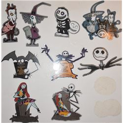 ZZ- THE NIGHTMARE BEFORE CHRIISTMAS STICKER WHOLESALE LOT!