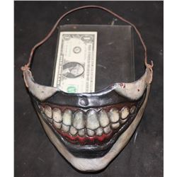 AMERICAN HORROR STORY FREAK SHOW TWISTY THE CLOWN SCREEN USED PROSTHETIC MASK