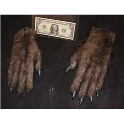 WEREWOLF CREATURE ALIEN DEMON ARMS WITH HANDS WEARABLE MATCHED PAIR