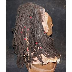 PERCY JACKSON SEA OF MONSTERS POLYPHEMUS CYCLOPS SCREEN USED COWL WITH DREADLOCKS