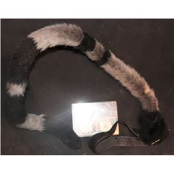 PUSSY CAT WEARABLE FUR TAIL WITH HARNESS