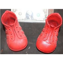 SEED OF CHUCKY UNFINISHED HERO SHOES MATCHED PAIR OF MASTERS