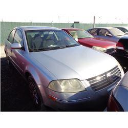 VW PASSAT 2003 T-DONATION