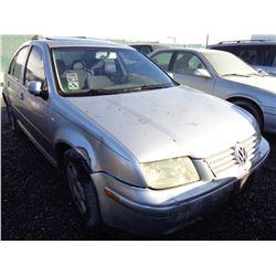 VW JETTA 2001 O/S T-DONATION