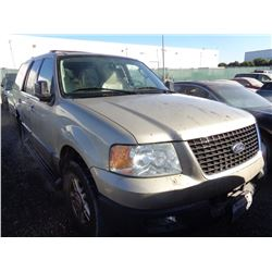 FORD EXPEDITION 2004 T-DONATION