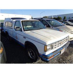 CHEVROLET S10 1984 APP  DUP/T-DON