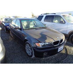 BMW 325XI 2002 SALV T/DONATION