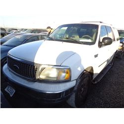 FORD EXPEDITION 2002 T-DONATION